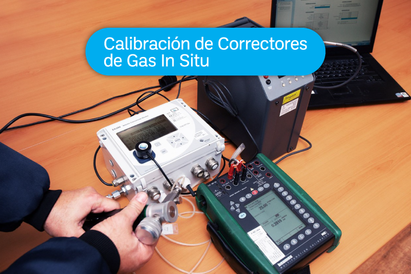 EXPERIENCIAS ISCAL: Calibración de Correctores de Gas In Situ